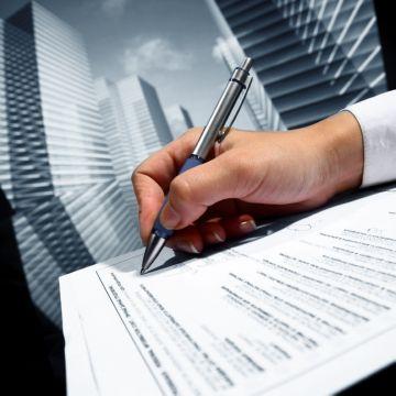 Подпись документов об аренде