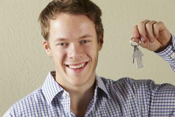 Молодой человек с ключами