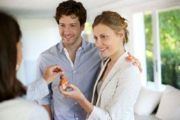 Вручение ключей арендаторам