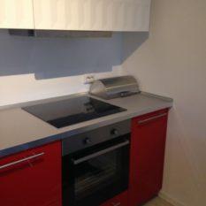 Плита на кухне