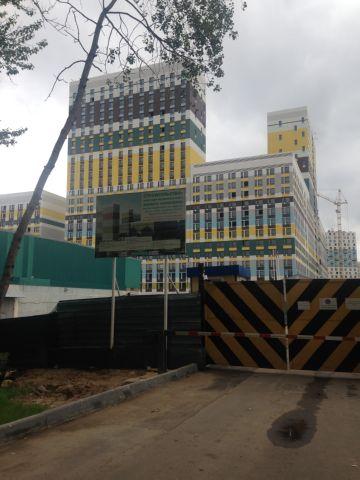 строительная площадка Варшавское Шоссе 141